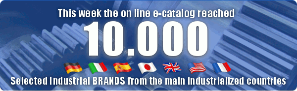 Unitec E-catalog reached 10.000 selected industrial brands from the main industrialized countries.